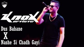 Dus Bahane Karke Le Gaye Dil X Nashe Si Chadh Gayi | By Knox Artiste | Live in Bardoli