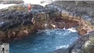 La piscina de la muerte mi primer video