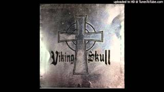 Viking Skull - Heavy Metal is the Law