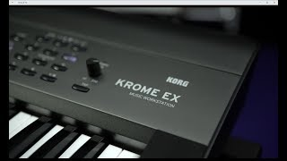 KORG KROME EX - Synth Workstation - All playing no talking - Official video