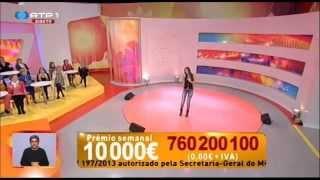"""SUNNY NO PROGRAMA """"PRAÇA DA ALEGRIA"""" DA RTP"""