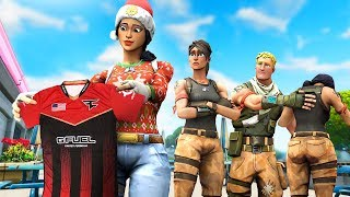 My Fortnite Clan reacts to me joining FaZe...