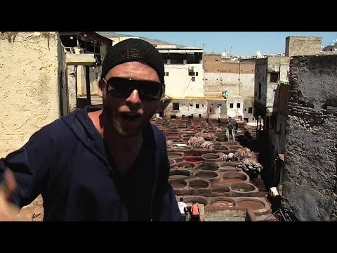 Tannery- Fes, Morocco, Davidsbeenhere.com