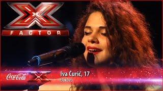 Iva Ćurić - Ne koči / Beograd (Elitni odredi) - X Factor Adria 2015 (HD) + Lyrics!