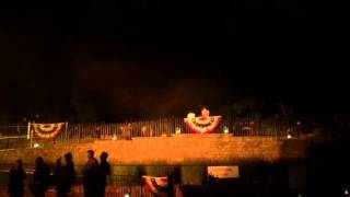 Cannon from 1812 overture at greenfield village
