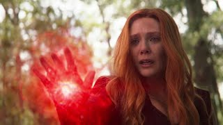 Scarlet Witch kills Vision (Vision's death) / Wakanda team vs Thanos | Avengers Infinity War.
