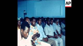UPITN 8 2 79 NYERERE BROADCASTING SPEECH WITH WARNING TO AMIN width=