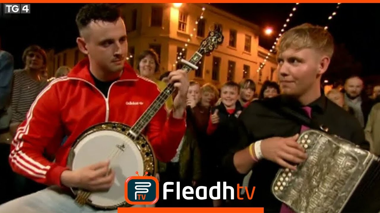 Brian Scannell, Colm Slattery & Conor Casey perform on FleadhTV 2017