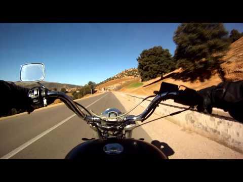 Chopperbyggarn & La Azteca in Morocco Des-Jan 2012-13 #16.
