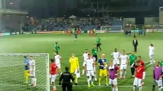 Andorra - Magyarország (1:0) - mérkőzés utáni pillanatok