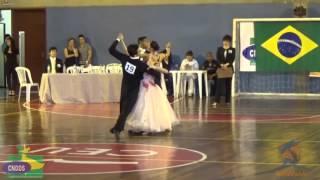 Baila Mundo - Circuito Standard Adulto Open - Valsa (Campeonato Brasileiro de Dança Esportiva 2015)