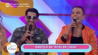 """Sheyla Rojas se """"incomodó"""" al escuchar canción en vivo de Idéntico"""