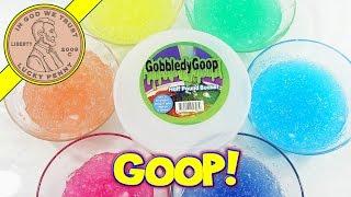 Rainbow Slime Gobbledy Goop Play Time!