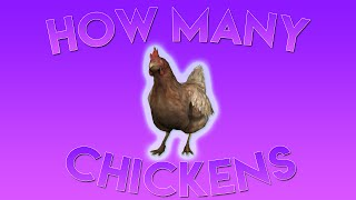 CS:GO - How many chickens can you have!?!