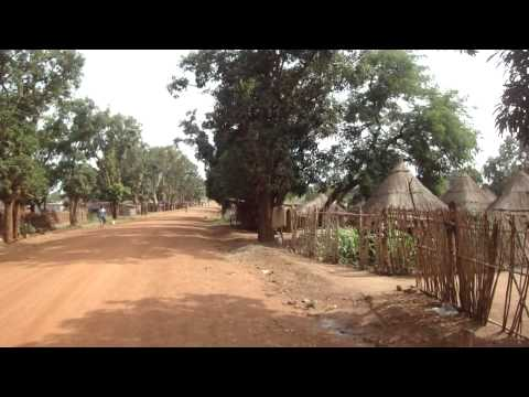 Road from Juba to Yei in South Sudan Africa 22