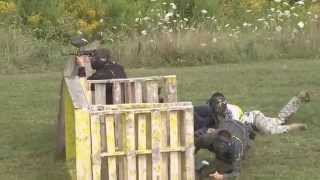 Coaches & Fort Drum Soldiers vs Seniors In Paintball - Syracuse Football