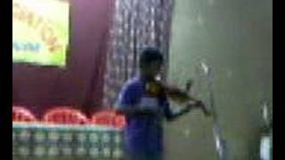 Suhith violin Play