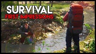 SCUM! First Impressions - *NEW* SUPER-REALISTIC Survival! (Scum Gameplay Part 1)