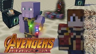 Infinity War Ending but it's a Minecraft Parody