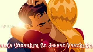 Unnale Ennaalum En Jeevan song Flute | Lyrics |Theri Movie lyrics