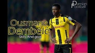 Ousmane Dembélé ⚫ Regates & Goles