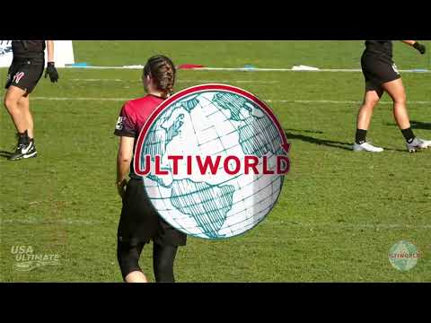Video Thumbnail: 2019 National Championships, Women's Pool Play: Washington D.C. Scandal vs. Seattle Riot