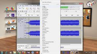 how to change my voice in audacity (male to female)