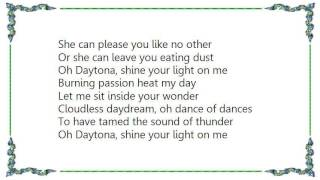 Chris Rea - Daytona Lyrics