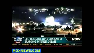 UFO Jerusalem - dome of the rock alien encounter? Or Christian GOD's return?