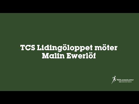 TCS Lidingöloppet möter Malin Ewerlöf