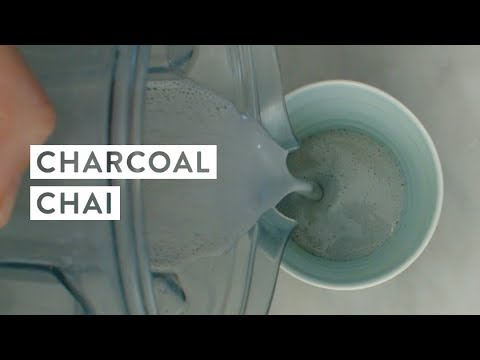 Activated Charcoal Chai Wellness Drink Recipe