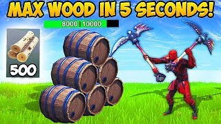 NEW *SUPER FAST* WAY TO GET MATS! - Fortnite Funny Fails and WTF Moments! #491