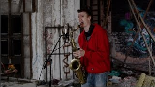 """BEATBoX SAX - """"Ain't No Sunshine"""" (Bill Withers) - Solo Sax and Voice (no overdubs)"""