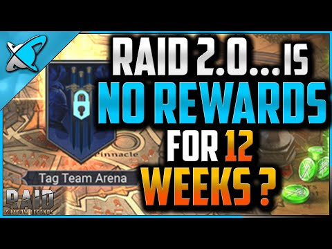 """RAID 2.0"" is ... NO REWARDS FOR 12 WEEKS ?! 