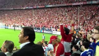 Bayern Ambiance after goal
