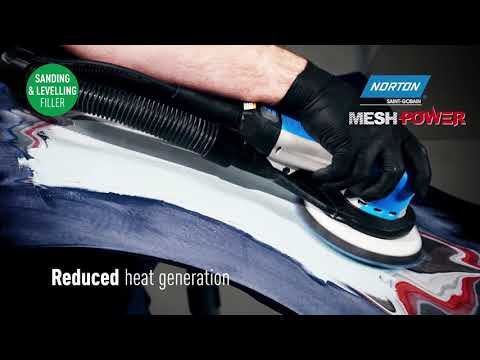 Norton MeshPower - Powerful Dust Extraction