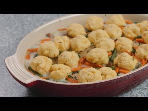 Fall Convection Steam Meals - Chicken & Dumplings