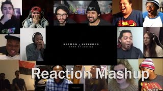 Batman v Superman  Dawn of Justice Official Trailer #2 REACTION MASHUP