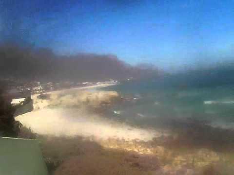 Timelapse Video – Glen Beach & Camps Bay – 13/08/2010