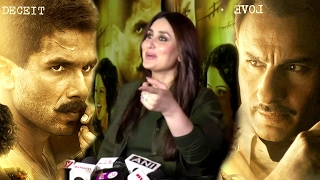 Kareena Kapoor's BEST Reply On Shahid Vs Saif - Who Acted Better In Rangoon