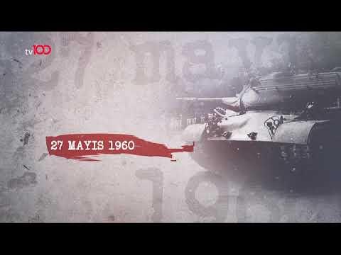 """""""27 Mayıs 1960"""" belgeseli tv100'de #demokrasibelgeseli"""