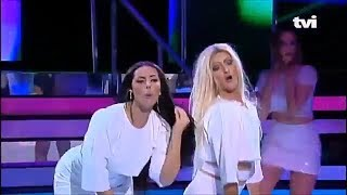 Anitta e Pabllo Vittar na TV de Portugal (cover)