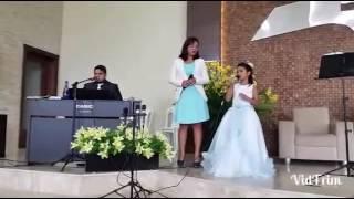 Nicolle cantando - Filho do Homem (Cover Art'trio)