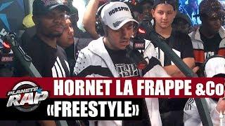 Hornet La Frappe invite Sadek, Kalash Criminel pour un freestyle 100% 93!