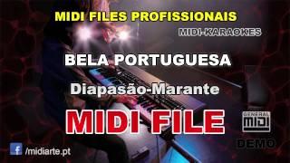♬ Midi file  - BELA PORTUGUESA - Diapasão-Marante