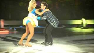 Dancing On Ice Live Manchester 17/4 - Ray & Maria - Rock Around The Clock