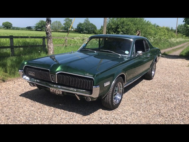 1968 Ford Mercury Cougar - Great V8 Sound!