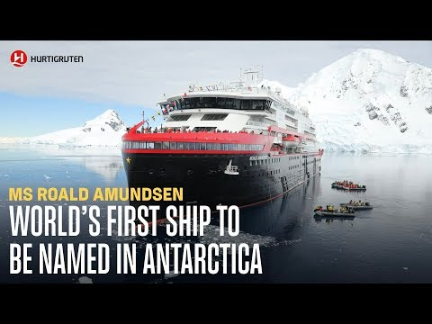 World's first ship to be named in Antarctica