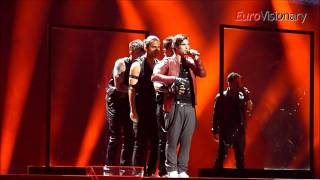 Eric Saade - Popular - Eurovision 2011 - Sweden - From dress rehearsal