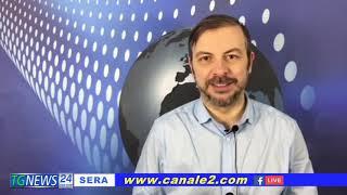 IT Cerca      9+  Immagine avatar TG NEWS SERA CANALE 2 DEL 23 FEBBRAIO 2021